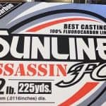 Sunline Assassin Crankbait Line Fluorocarbon For Bass Fishing