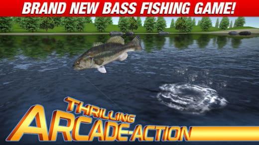 screenshot from master bass angler app